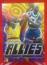 """KOBE BRYANT/SHAQUILLE O'NEAL 1999-00 SKYBOX APEX LA LAKERS """"ALLIES"""" #1 of 15 A"""