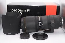 【NEAR MINT】Sigma AF 100-300mm f/4 APO HSM EX DG For Nikon From Japan