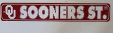 Oklahoma State University Sooners Ncaa Street Sign College Dorm Wall Decor