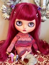 """Custom Factory OOAK Blythe Doll """"Rose"""" by Dollypunk21 *FREE SET OF HANDS!*"""