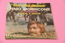 "MORRICONE 7"" VAMOS A MATAR ORIG ITALY '60 EX !!!! SOLO COPERTINA SENZA DISCO"