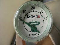 Crown TWENTY  S. W  VERY RARE 40 MPH Bicycle Speedometer. Schwinn Stingray.