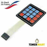 Clavier matriciel tactile de 16 touches 4x4 pour Arduino raspberry TimerMart