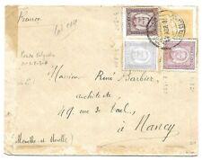 Portugal: 1895, Azores, Cover to France XF, Rare, EBPO04