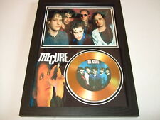 THE CURE  SIGNED GOLD CD  DISC 92