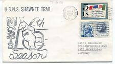 1967 U.S.N.S. Shawnee Trail MSTS Army & Air Force Season Polar Antarctic Cover