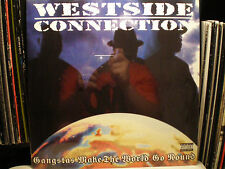 "WESTSIDE CONNECTION - GANGSTAS MAKE THE WORLD GO ROUND / BOW DOWN (REMIX) (12"")"