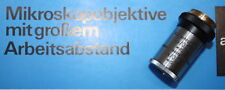 1 Zeiss Jena Objektiv Planachromat 4x /0,05/oo/0/2 mit Frontplatte
