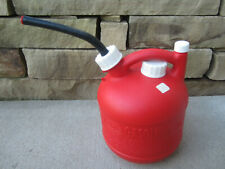 Eagle 125 Gallon Vented Gas Fuel Can With Spout Pg 1 Usa