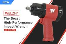 """THE BEAST from WELZH WERKZEUG WW 3000 1/2"""" AIR IMPACT WRENCH 1982Nm of TORQUE"""