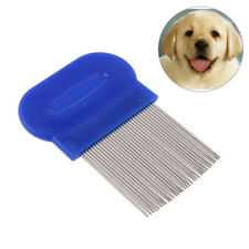 Hair Lice Comb Brushes Terminator Fine Egg Dust Nit Free Removal Stainless-SteHK