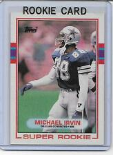 MICHAEL IRVIN 1989 TOPPS MINT RC ROOKIE CARD DALLAS COWBOYS