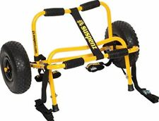 150 Lbs Fishing Kayak Canoe Carrier Dolly Loading Trolley Transport Wheeled Cart