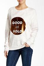 NWT- Junk Food Good As Gold Sweatshirt Size XS