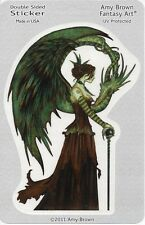 COURT OF THE DRAGON Fairy Sticker Car Decal Amy Brown goth gothic pagan faerie