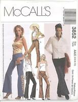 McCall's 3852 Misses' Pants  Sewing Pattern