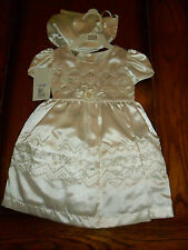 BABY 3-6 MTH SPECIAL OCCASION DESIGNER DRESS WEDDING CHRISTENING PARTY CHRISTMAS
