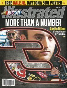 APRIL 2014 NASCAR ILLUSTRATED RACING MAGAZINE #3 AUSTIN DILLON COVER