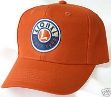 New Embroidered LIONEL TRAINS Collector's Hat
