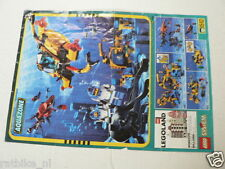 LEGO BROCHURE FLYER CATALOG TOYS 1996 AQUAZONE DUTCH 2 PAGES 066