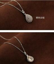 Women fashion Water droplets Necklace Long Chain Jewelry HOT! 。。/