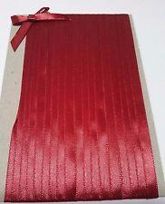 5M 6mm Thin Red Satin Ribbon Trim Card Making Scrapbooking Home Decor Craft Art
