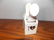 Martha Stewart Heart Lock and Key Love Valentine Paper Punch L1117