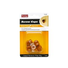 Prestige 10 - 12g Brown Snap On Screw Caps - 12 Pack