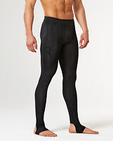 2XU Mens Power Recovery Compression Tights (Black/Black) + Free AUS Delivery!