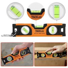 "8"" Magnetic Torpedo Bubble Spirit Level Beam Triple Ruler Measure Tool Portable"