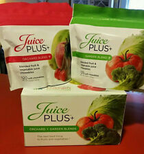 Juice Plus+ ORCHARD and GARDEN CHEWABLES. 2 PACKETS. 05/2017. FAST SHIP!