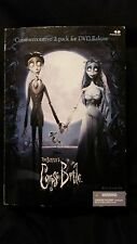 "TIM BURTON'S CORPSE BRIDE & VICTOR 7"" COMMEMORATED 2 PACK FIGURES"