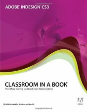 Adobe InDesign CS3 Classroom in a Book,Adobe Creative Team