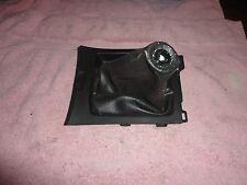 2004-2009 Mazda 3 Interior black manual shifter handle surround bezel vinyl blac