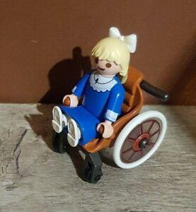 Playmobil Kinder Figur Klara mit Rollstuhl aus Heidi Set