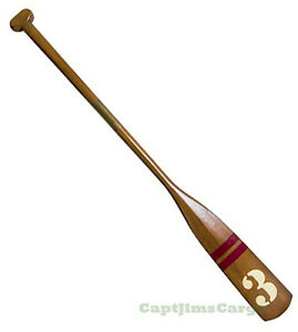 """Royal Barge Oar #3 Wooden Paddle 57"""" Nautical Decorative Maritime Wall Decor New"""