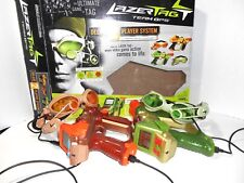 Lazer Tag Team Ops Deluxe 2 Player System Set With Box