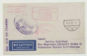 Zeppelinpost, SAF 1930 mit Anschlußflug ab Berlin, Sieger Nr. 57 T (44795)