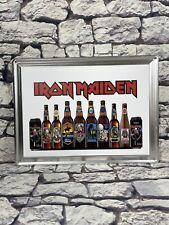 Giant Iron Maiden Beer Bottles Tin Sign Trooper beer Bottles & Cans Hard Metal