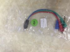 ATI 9-Pin S-Video to 3 RCA Composite Video cable 6111017500G 8.5""