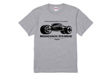 SYD MEAD Tokyo Exhibition PROGRESSIONS TYO 2019 Event Limited MEGACOACH T-Shirt