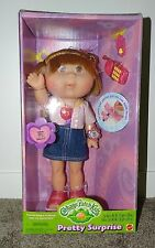 Cabbage Patch Kids Boxed Doll Pretty Surprise Lip Gloss Mattel 2000 Cassia Bess