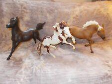 Breyer Nokota- Isadora Cruce, Argo, Durango Mustang Handsome Action Set lot (3)