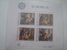 Europa CEPT MNH 1979 Communications - Portugal M/S
