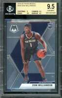 Zion Williamson Rookie Card 2019-20 Panini Mosaic #209 BGS 9.5 (9 9.5 9.5 9.5)