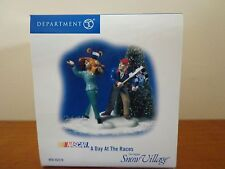 Nascare Department  56 - Snow Village - A DAY AT THE RACES Original Seal