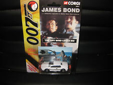 1/64 CORGI JAMES BOND 007 LOTUS ESPIRT THE SPY WHO LOVED ME  + COLLECTORS CARD