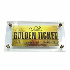 Charlie and the Chocolate Factory (2005) - Golden Ticket Replica