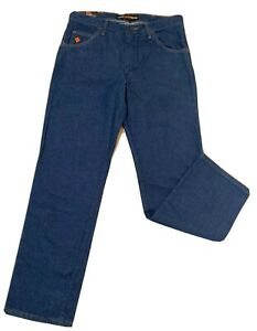 Wrangler FR Flame Resistant Lightweight Jeans Size 34W 32L HRC 2 NFPA 2112 NEW