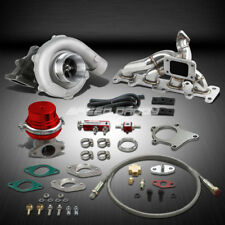 T04 .63AR 400+HP BOOST 6PC TURBO CHARGER+MANIFOLD KIT FOR 03-05 DODGE NEON SRT4